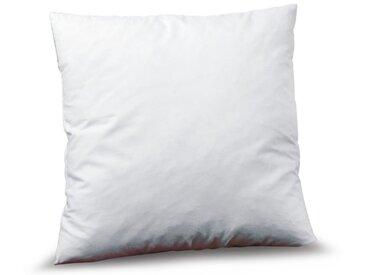 Füllkissen Faser 60 x cm /Weiß, Baumwolle