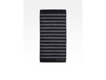 JOOP! Duschtuch Classic Stripes 80x150 cm /Schwarz, 80 x 150