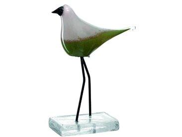 Leonardo Deko-Vogel Casolare /Grün, Glas