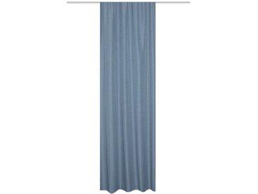 Schmidt Fertiggardine Thermo 135 x 245 cm /Blau, Polyester