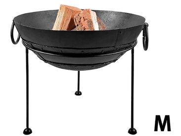 esschert design Feuerschale Recycelt, Ø 60 cm, Stahl