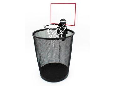 MAGS Papierkorb-Aufsatz Basketball-Korb /Schwarz, Kunststoff