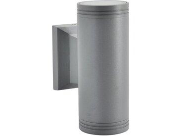 DesignLive Außenwandleuchte Deilbach /Alu, Aluminium