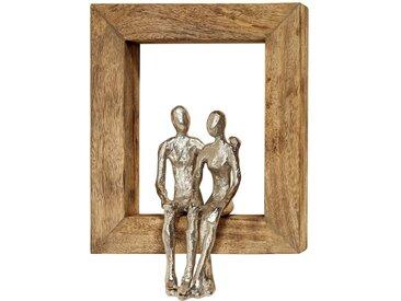 BOLTZE Wanddeko 30 x 23 cm Paar, Holz