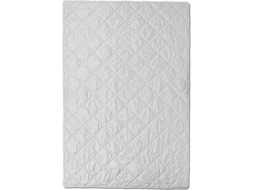 Centa-Star Naturbettdecke Silk&Linen 155 x 220 cm /Weiß,
