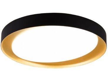 Reality Leuchten LED-Deckenleuchte Zeta /Gold / Schwarz,