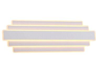 DesignLive LED-Wandleuchte VANCOUVER, Alu, Eisen, Stahl & Metall