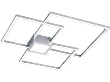 Trio LED-Deckenleuchte Hydra /Nickel matt, Alu, Eisen, Stahl &