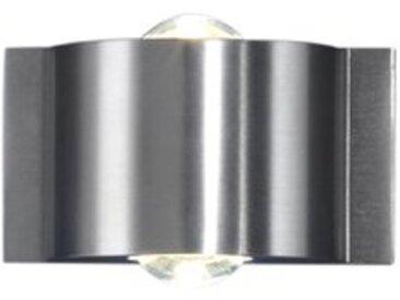B-LEUCHTEN LED-Außenwandleuchte Stream /Alu, Chrom, Alu, Nickel,