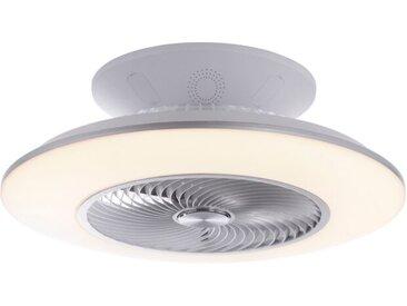 Leuchten Direkt Deckenventilator Leonard /Weiß, Kunststoff