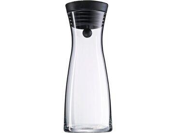 WMF Karaffe Basic schwarz 750 ml /Transparent, 0,75 l Glas