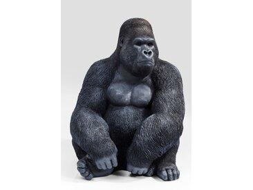 KARE Deko-Figur Gorilla XL, Kunststoff