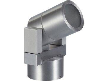 DesignLive LED-Außenwandleuchte ARY, Alu, Eisen, Stahl & Metall