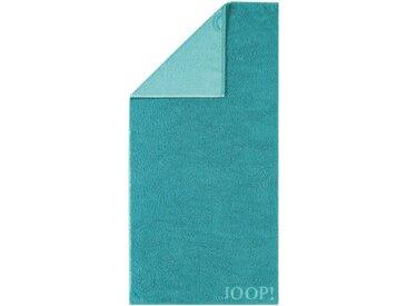 JOOP! Duschtuch Doubleface 80 x 150 cm /Türkis, Baumwolle
