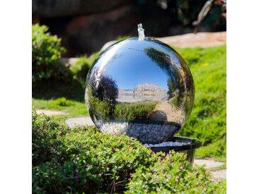 KÖHKO Gartenbrunnen Uranus /Silber, Edelstahl