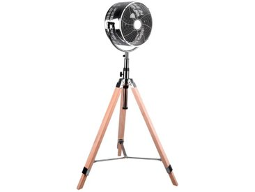 Reality Leuchten Standventilator Tromsö /Chrom, Alu, Eisen, Stahl
