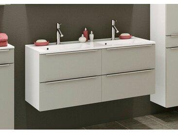 Held-Möbel Waschtisch-Set Garda /Grau, 120 cm