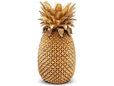 KARE DESIGN Vase Pineapple 51068 /Gold, Kunststoff