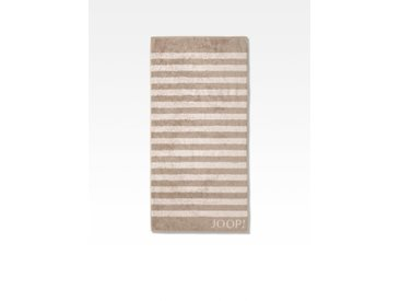 JOOP! Duschtuch Classic Stripes 80x150 cm /Sand, 80 x 150