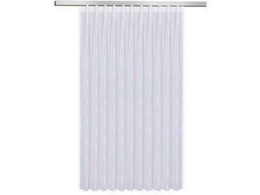 Fertiggardine Vera 150 x 600 cm /Weiß, Polyester