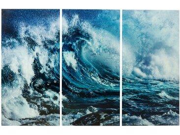 KARE Glasbild 240 x 160 cm Wave, Glas