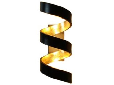 Eco-Light LED-Wandleuchte Helix /Schwarz, Metall