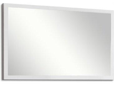 HMW Garderobenspiegel Crystal /Weiß / Hochglanz, Lack