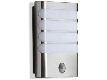 Philips LED-Außenwandleuchte Raccoon /Silber, Alu, Eisen, Stahl &