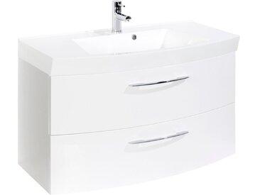 Held-Möbel Waschtischunterschrank Florida /Weiß