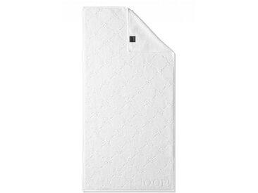 JOOP! Gästetuch Cornflower 30 x 50 cm /Weiß, Baumwolle