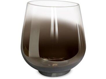 BOLTZE Windlicht Grazia 15 cm /Silber, Glas