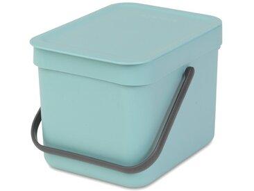 brabantia Abfallbehälter Sort&Go 6l Mint /Mint, Kunststoff