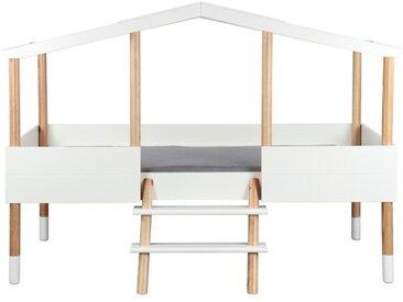 Spielbett mit Schubladen Piloti 90 x 190/200 cm, Holz