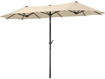 Schneider Schirme Balkonschirm Salerno 300 x 150 cm /Natur,