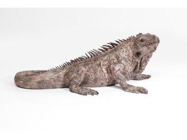KARE Deko-Figur Iguana /Braun, Kunststoff