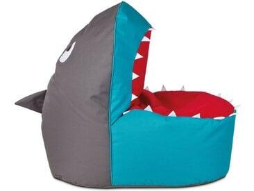 MAGMA Sitzsack Shark Brava /Bunt, Stoff