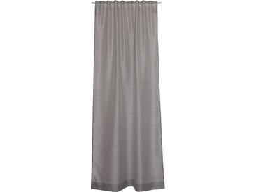 Schöner Wohnen Fertiggardine Splash 130 x 250 cm /Grau, Polyester
