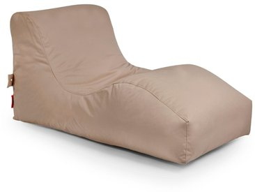 Outbag Sitzsack Liege Wave, Mud Plus /Braun, Polyester
