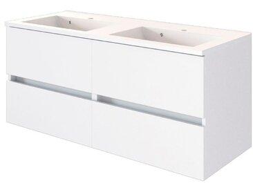 Held-Möbel Waschtisch Baabe /Weiß, 120 cm