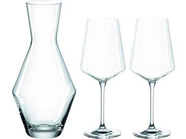 Leonardo Karaffe Puccini 3tlg. /Transparent, Glas