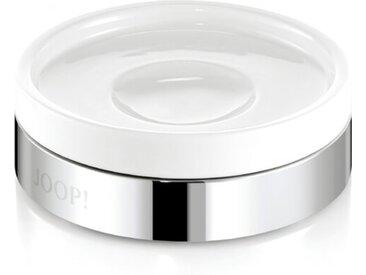 JOOP! Seifenschale Chromeline /Weiß, Keramik