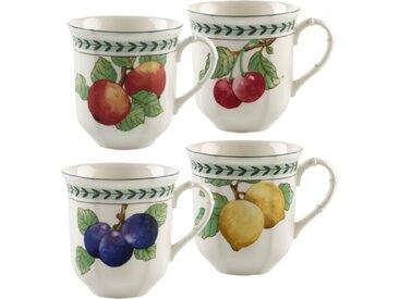 Villeroy & Boch Becher Modern Fruits 4tlg. /Grün, Porzellan