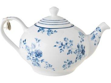Laura Ashley Teekanne 1600 ml /Blau, Porzellan