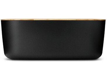 Rig-Tig by Stelton Brotkasten BOX-IT 34,5 cm /Schwarz, Kunststoff