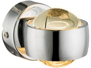 Globo LED-Wandleuchte Randi /Chrom, Metall