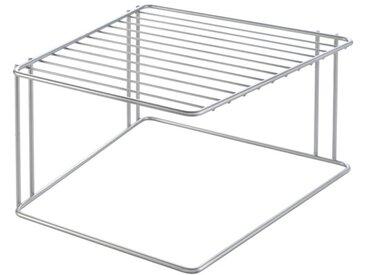 Ablagekorb Boxe /Silber, Stahl