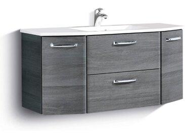 Pelipal Waschbeckenunterschrank Alika /Graphit, Kunststoff