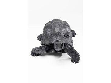 KARE Deko-Figur Turtle 60751 /Anthrazit, Kunststoff
