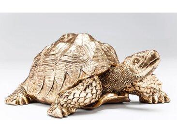 KARE Deko-Figur Turtle /Gold, Kunststoff