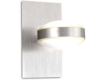 FABAS LED-Wandleuchte Mill /Nickel matt, Metall